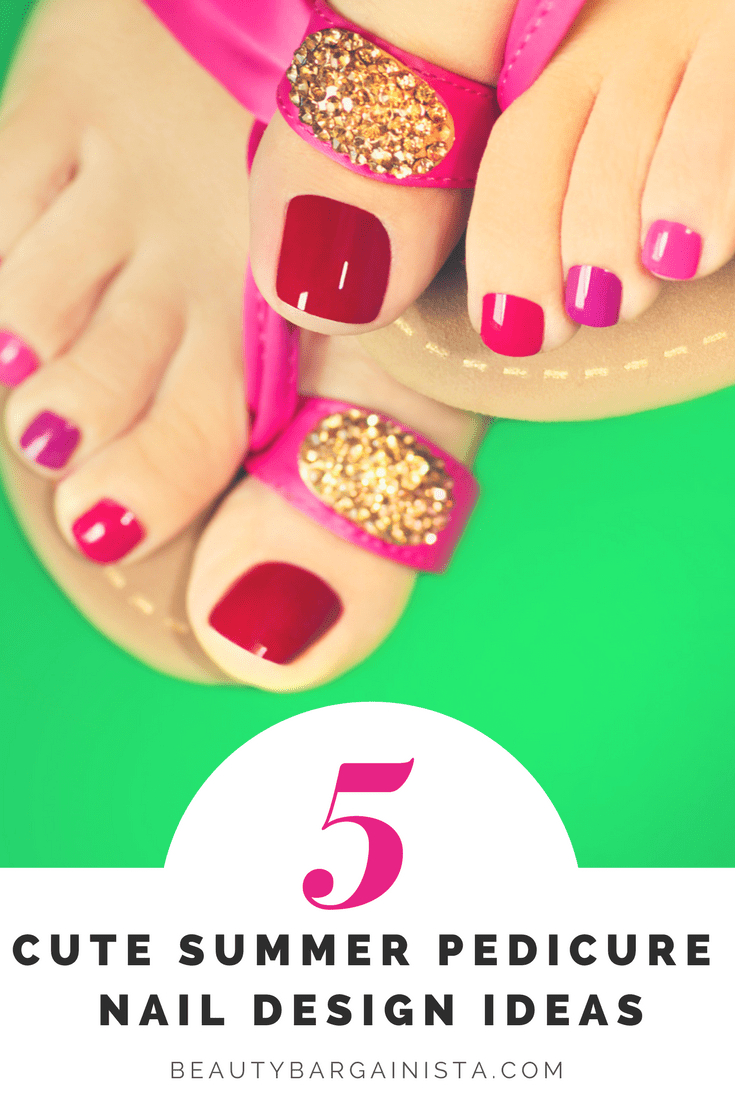5 Cute Summer Toe Nail Designs Ideas For Your Next Pedicure Project
