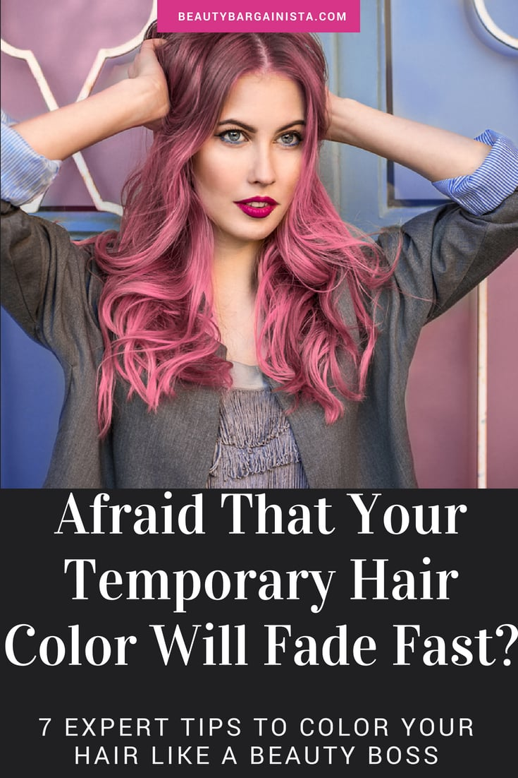 7 Foolproof Ways to Keep Your Temporary Hair Color From ...