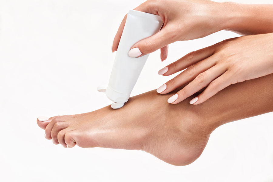 tips to moisturize your dry cracked heels