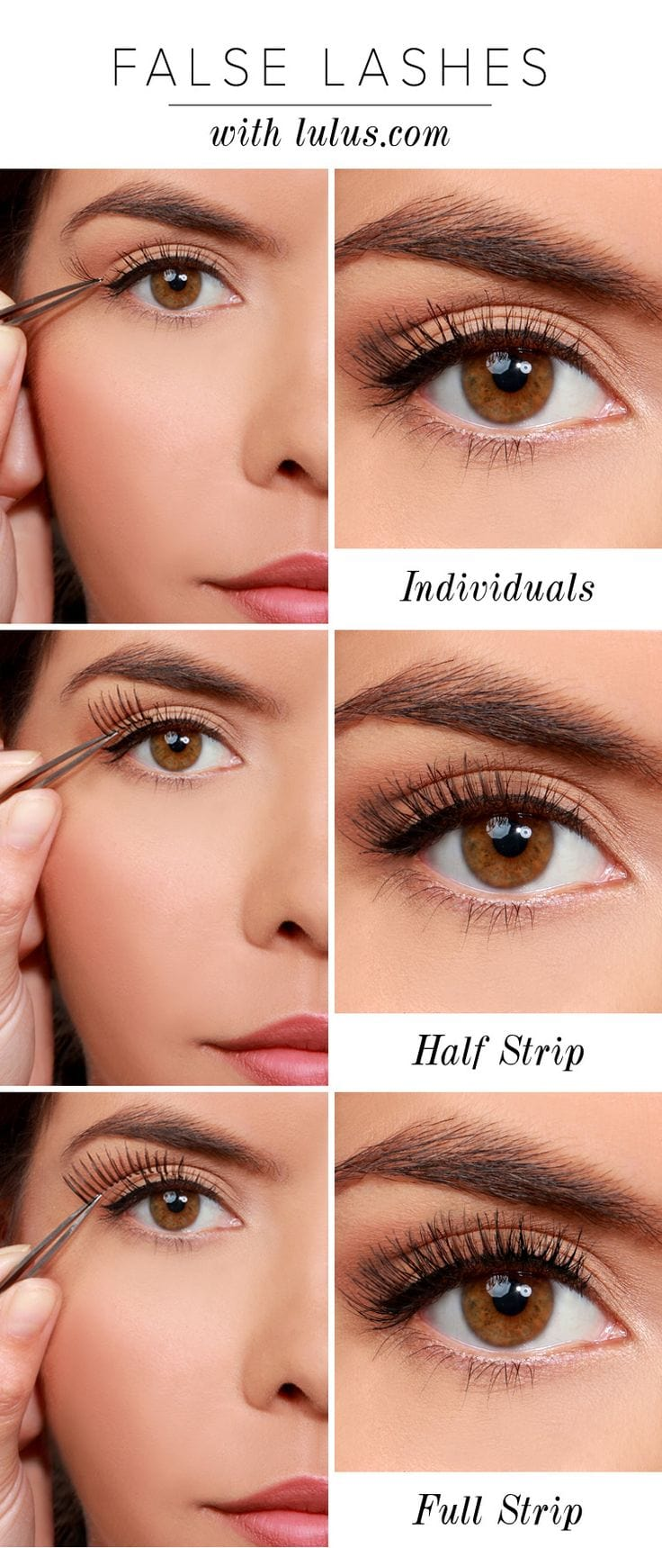 How to Apply False Eyelashes For the First Time (With ...